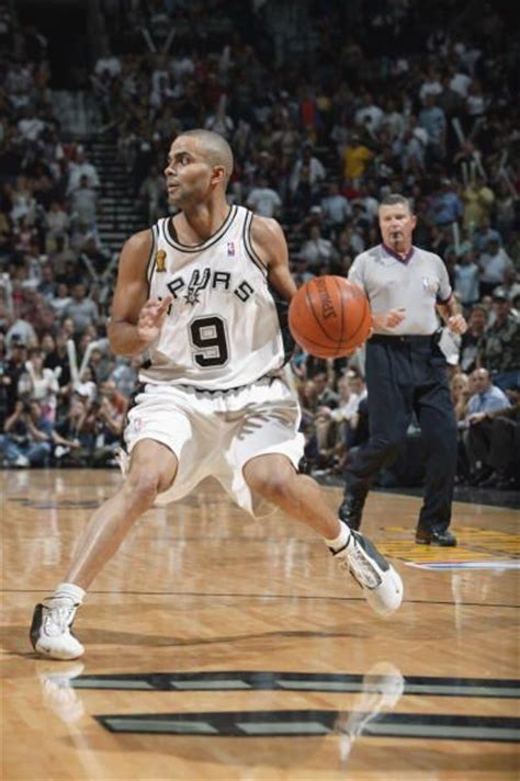 lot detail   tony parker game  san antonio