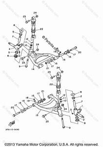Yamaha Atv 2005 Oem Parts Diagram For Front Suspension