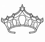 Crown Coloring Princess Tiara Drawing Printable Template Cinderella Coronas Vorlage Prinzessin Princesas Drawings Moldes Inspirational Resultado Imagen Adult Tiaras Netart sketch template