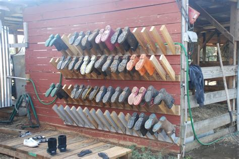upside   storage boot rack harley hillside farm pinterest  storage