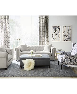 Living Room Furniture At Macy S by Martha Stewart Collection Saybridge Living Room Furniture