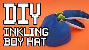Splatoon Inkling Boy Hat templates Find the Tutorial