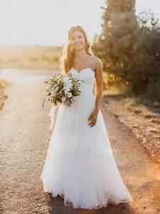 Hochzeitskleid Spitze Rückenfrei : a linie hochzeitskleider brautkleider online ~ Frokenaadalensverden.com Haus und Dekorationen