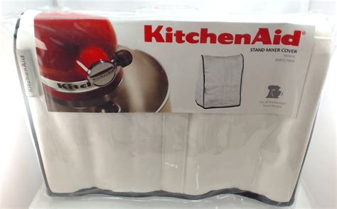 kmccwh kitchenaid stand mixer cloth cover  white