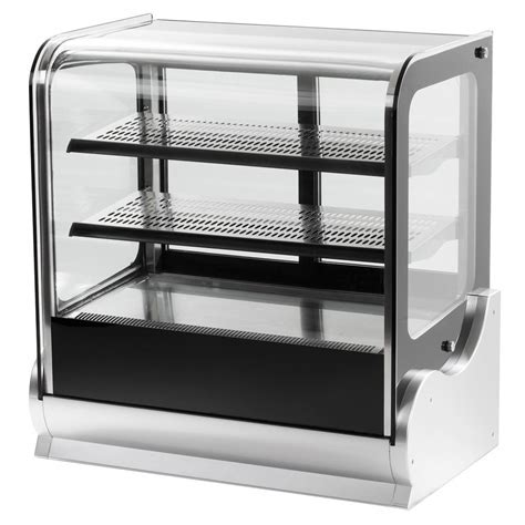 """Vollrath 40862 36"""" Cubed Glass Refrigerated Countertop"""