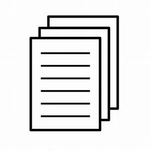 Blatt Papier Symbol Vektor-Bild | Public Domain Vektoren