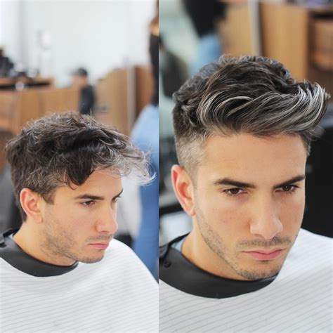 before and after haircuts the fade hairstyles hommes s style