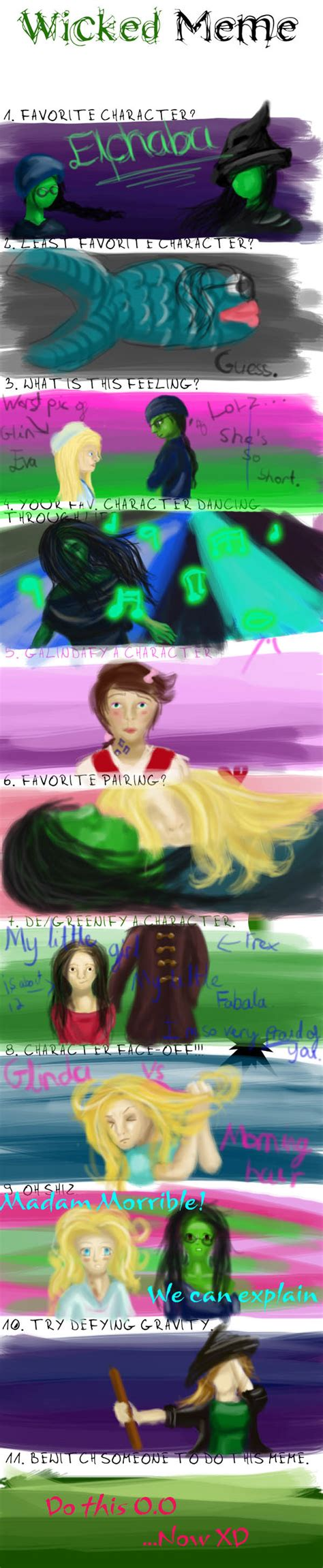Wicked The Musical Memes - new wicked meme by jeminisoul on deviantart