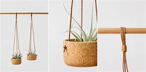 Cork And Leather Get Together In Melanie Abrantes' Hanging ...