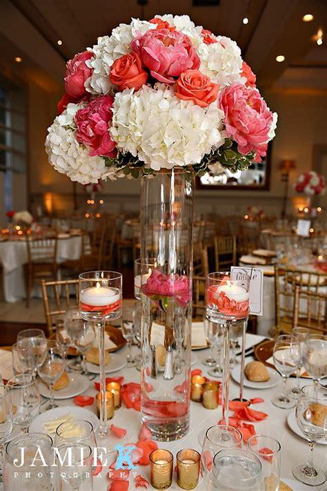 peach reception wedding flowers wedding decor wedding