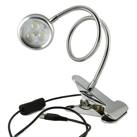 clip on reading light bxt led eye protection flexible clip on gooseneck desk