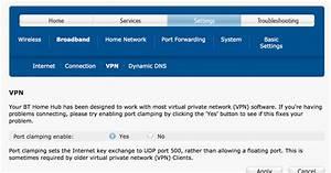 Exchanges  Bt Home Hub 3 And Cisco Vpn