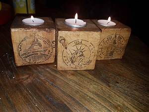 pallet block candle holders bougeoir personnalise o 1001 With best brand of paint for kitchen cabinets with christmas candle holders decorations