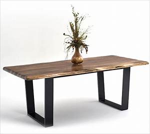 Contemporary Rustic Wood Furniture, Live Edge Tables ...