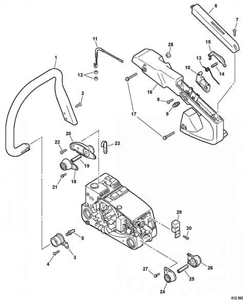 Stihl 026 Chainsaw Parts Diagram — Untpikapps