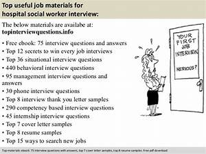 Medical Billing Specialist Cover Letter Hospital Social Worker Interview Questions
