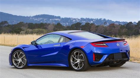 2017 acura nsx a technically gifted car that beats bmw i8