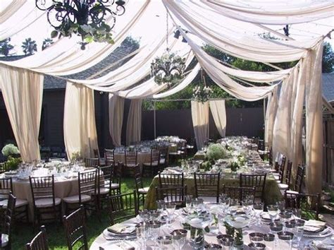 marquee draping ideas diy fabric wedding tent search wedding inspired