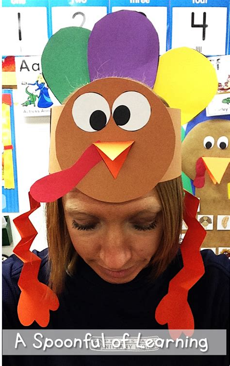 turkey hats november crafts thank 820 | d773c3e1dfcd35c426798281440135b2