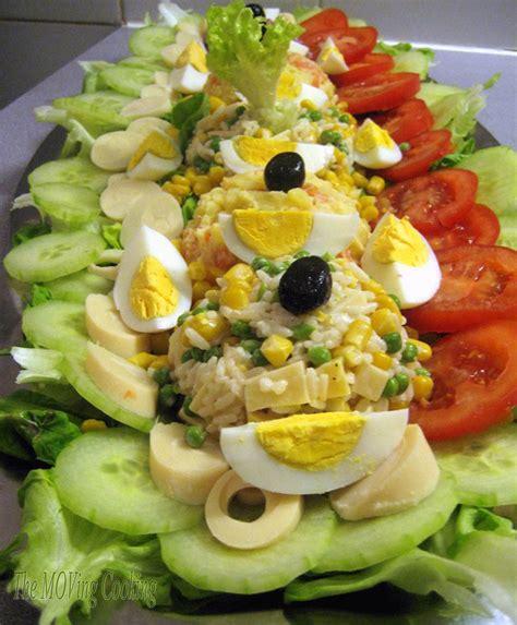 decoration de salade marocaine salade compos 233 e