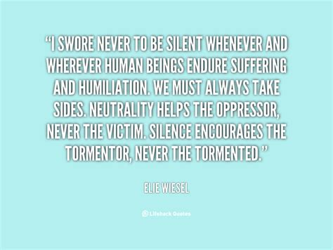 elie wiesel quotes  humanity quotesgram