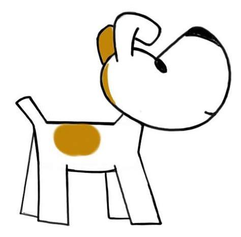 draw  easy cartoon dog