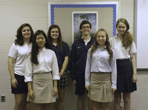 high marks national french contest saint james school