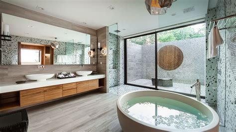 walk in shower ideas for bathrooms 7 villa bathrooms with spa like ambience