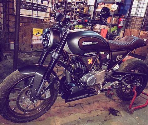 Modifikasi Pulsar 180 by This Modified Ducati Scrambler Is A Bajaj Pulsar 180