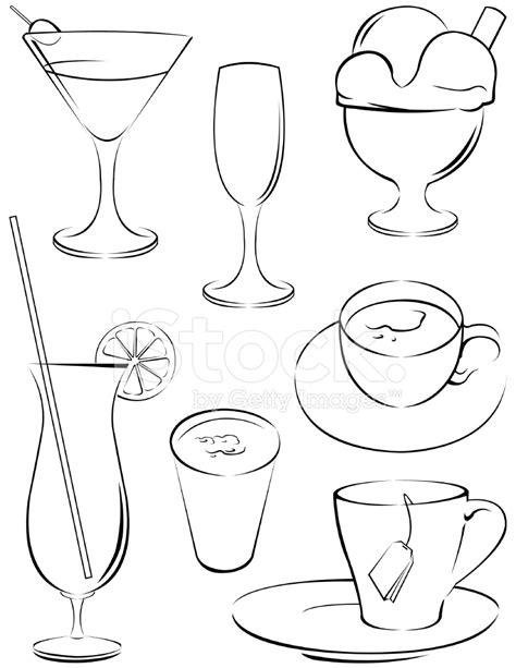 Drink Symbols Stock Vector - FreeImages.com