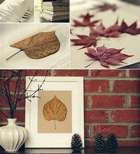 Cadre A Faire Soi Meme : cadre photo faire soi m me en quelques id es de bricolage d automne ~ Nature-et-papiers.com Idées de Décoration