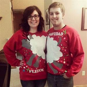 Best 25 Couples Christmas Sweaters Ideas On Pinterest Tacky