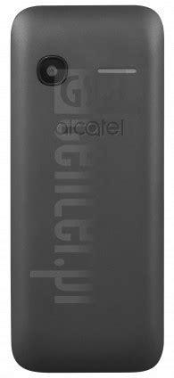 ALCATEL 1054X Specification - IMEI.info