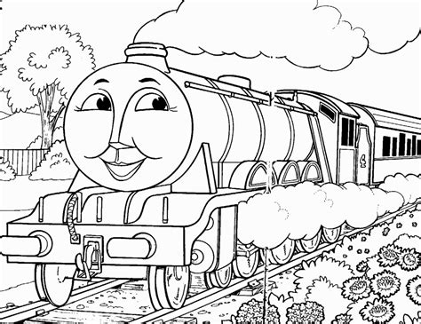 dibujos de trenes  pintar colorear imagenes