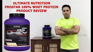 Ultimate Nutrition Prostar Product Review  Pricing