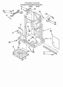 Kitchenaid Kccc151jwh0 Trash Compactor Parts