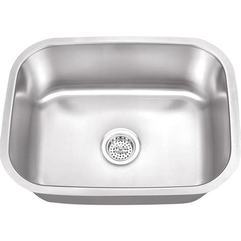 Ipt Stainless Steel Sinks by Ipt Sink Company Undermount 23 In 16 Stainless