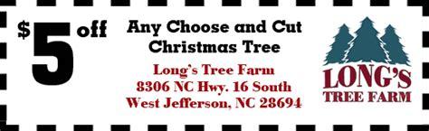 tree farm coupon s tree farm carolina trees west jefferson nc