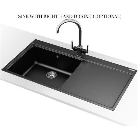 Franke Mythos MTG 611 Fragranite Onyx 1.0 Bowl Inset Sink