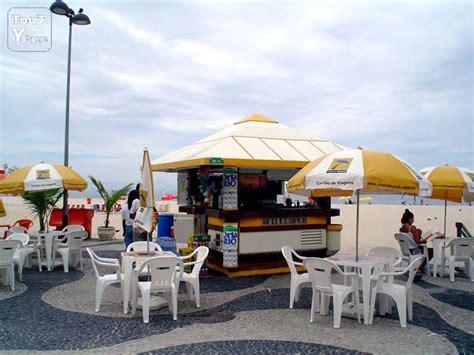 pas de porte de kiosque restaurant 224 vendre sur la plage de copacabana rj