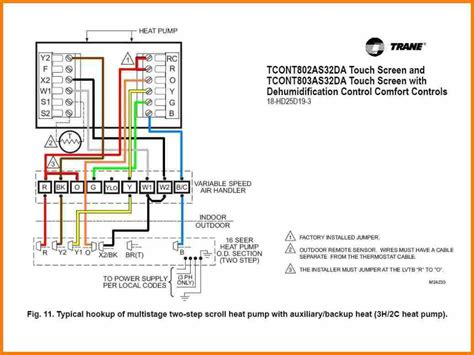 Honeywell Thermostat Wiring Diagram Manual by Honeywell Manual Thermostat Wiring Diagram Sle