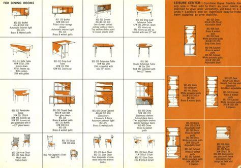 table catalogue drexel declaration retro renovation