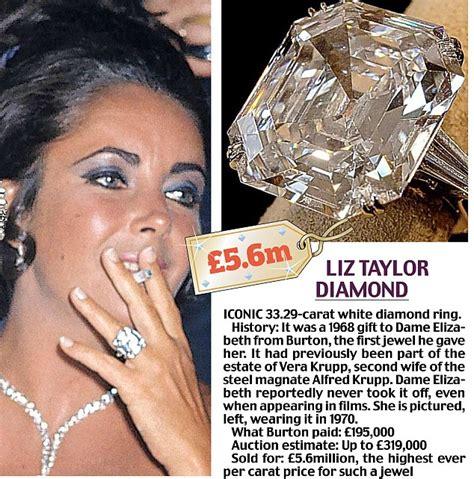 diamond earrings with price splurges 65k on 3 elizabeth