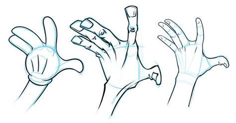 draw cartoon hands  styles proko