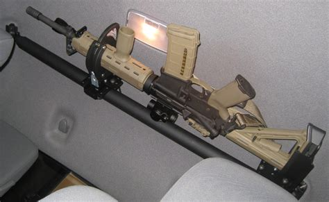 gun racks for trucks overhead gun rack page 2 tacoma world