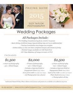 wedding packages suzy photography wedding packages