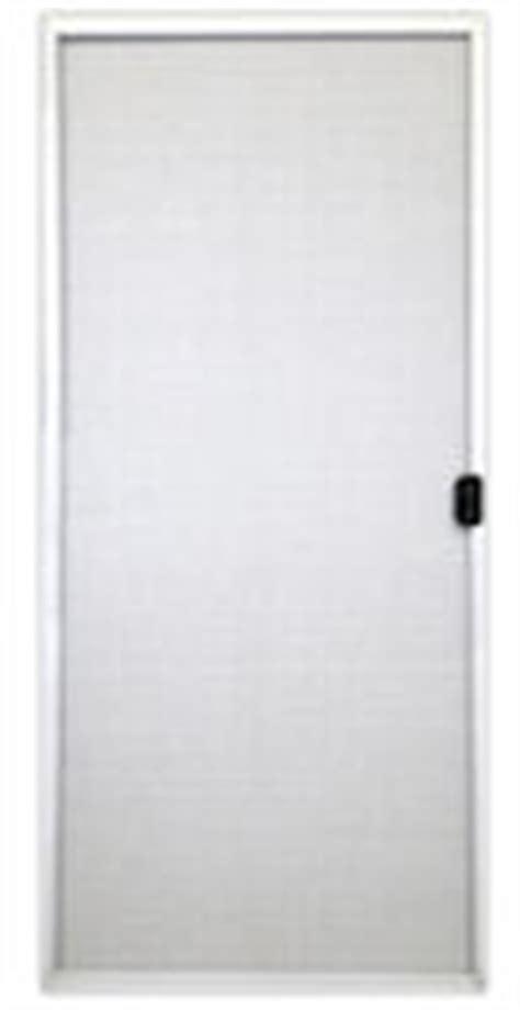 kinro white aluminum sliding patio door screen