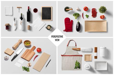Instant mockup generator + 113 mockups. Restaurant / Food - Branding Mock-Up ~ Product Mockups on ...