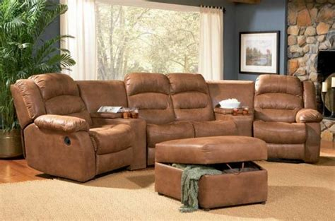 Home Theater Sectional Sofa 6 5040 Home Theater Leather