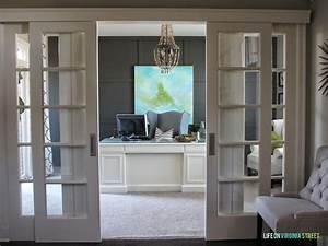 Home Office : remodelaholic home office makeover with diy wood bead chandelier ~ Watch28wear.com Haus und Dekorationen